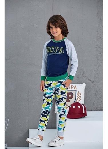 U.S. Polo Assn. Erkek Çocuk Eşofman Takımı Yeşil